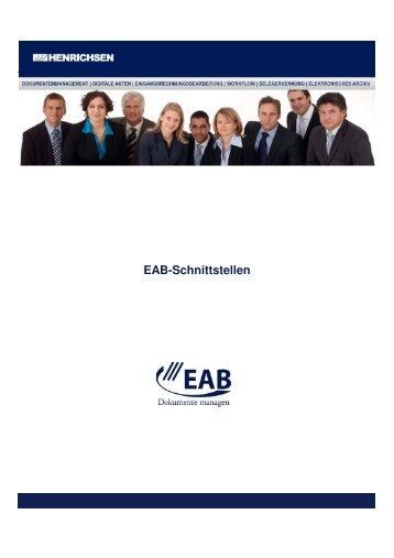 EAB-Schnittstellen - Henrichsen AG