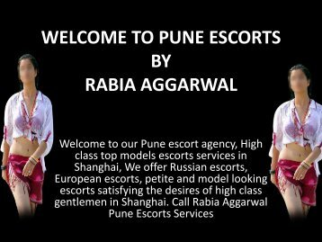 Top Escorts in Pune by Rabia Aggarwal
