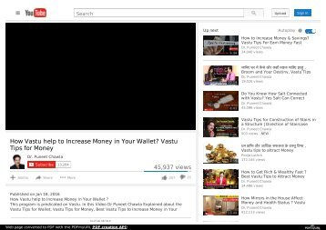 How Vastu help to Increase Money in Your Wallet? Vastu Tips for Money