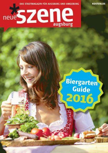 Biergarten-Guide Augsburg 2016