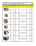 Bhome Wholesale Pricelist Stools 2016 - Page 5