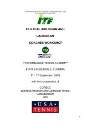 CENTRAL AMERICAN AND CARIBBEAN COACHES WORKSHOP