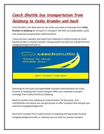 Czech_Shuttle_bus_transportation_from_Salzburg_to_Cesky_Krumlov_and_back