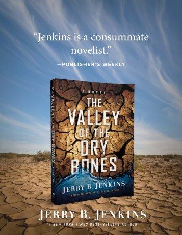 """Jenkins is a consummate novelist."""