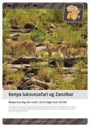 Kenya Luksussafari_ZNZ_2017
