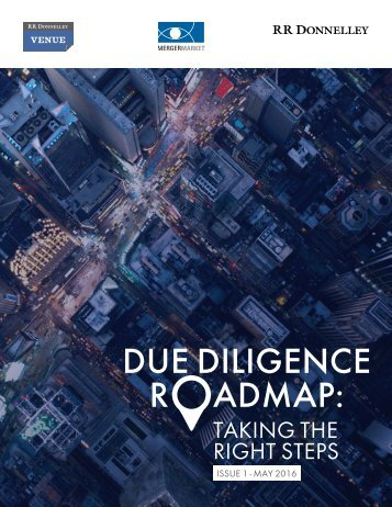 DUE DILIGENCE R ADMAP