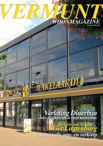 Vermunt Woonmagazine, voorjaar 2013