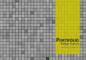 Portifólio de Arquitetura 1 - Felipe Franco