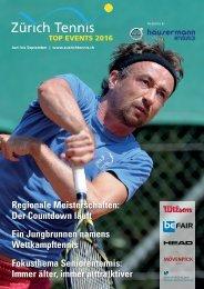 Top Events 2016 by Zürich Tennis