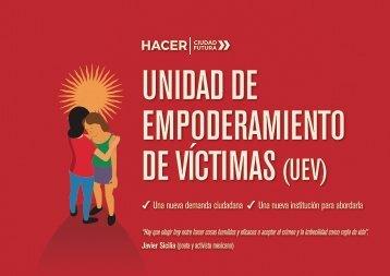 UNIDAD DE EMPODERAMIENTO DE VÍCTIMAS