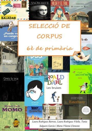 Selecció corpus 6è 2016