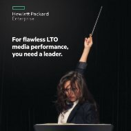 For flawless LTO media performance you need a leader