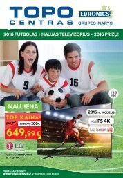 Topo centro katalogas   2016 birželis (Futbolas, II dalis)