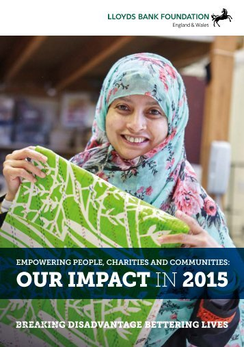 OUR IMPACT IN 2015