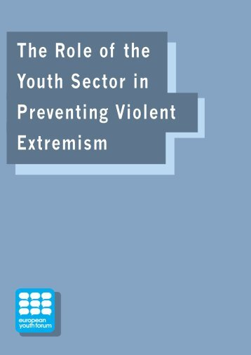 The Role of the Youth Sector in Preventing Violent Extremism