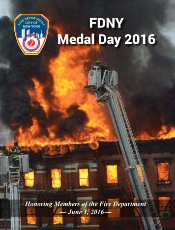 FDNY Medal Day 2016