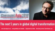 The next 5 years in global digital transformation