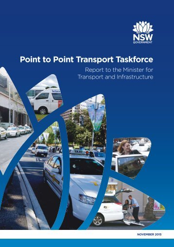 Point to Point Transport Taskforce