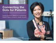 Connecting the Dots for Patients