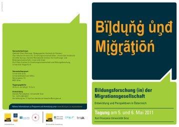 Bildungsforschung (in) der Migrationsgesellschaft - Pädagogische ...
