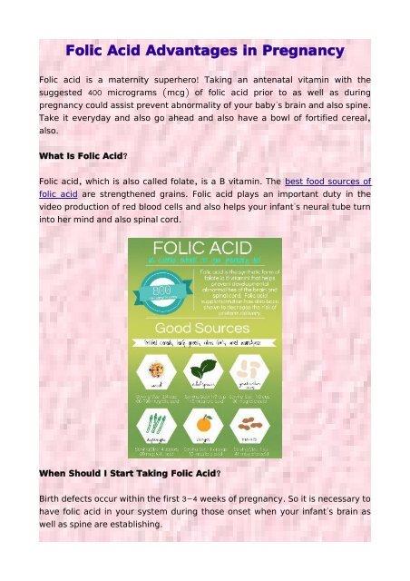 folic acid svenska