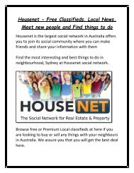 Housenet_-_Free_Classifieds__Local_News__meet_new_people_and_find_things_to_do