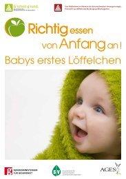 Richtig essen von Anfang an! Babys erstes Löffelchen_2014_3
