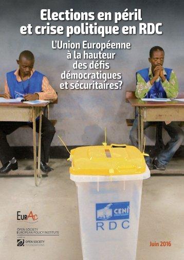 Elections en péril et crise politique en RDC