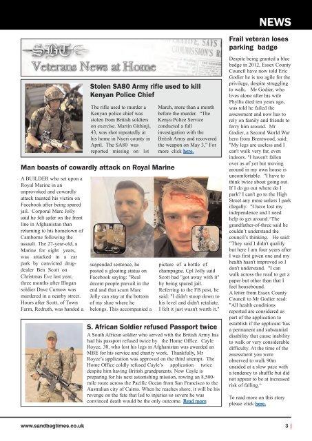 The Sandbag Times Issue No: 20