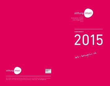 Jahresbericht 2015 Web