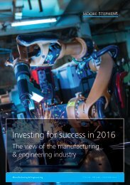 Investing for success in 2016