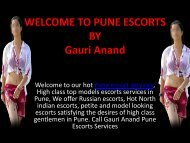 Hot DATING WITH PROFESSIONAL  ESCORTS IN PUNE
