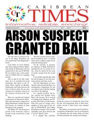 Caribbean Times 21st Issue - Thursday 2nd June 2016