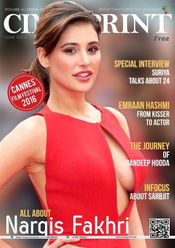 CineSprint Magazine June 2016