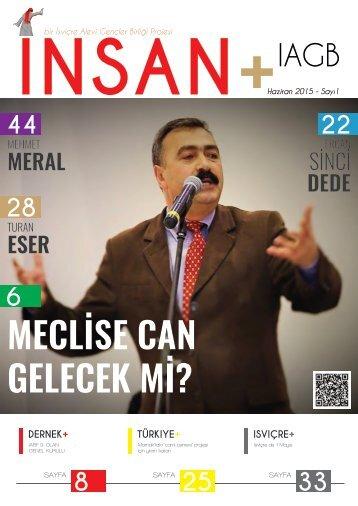 İNSAN+ 1. Sayı
