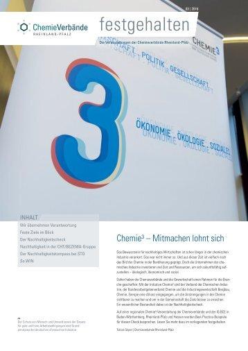 Chemie Hoch drei - Nachhaltigkeit
