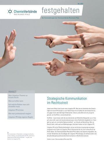 Litigation PR - Kommunikation im Rechtsstreit