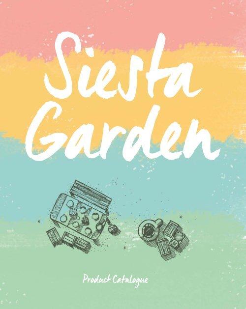 Siesta Garden Catalogue EN 1603016