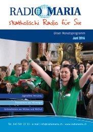 Radio Maria Schweiz - Juni 2016