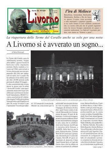 Livorno non stop Giu '16