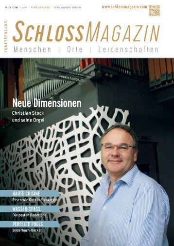 SchlossMagazin Fuenfseenland Juni 2016