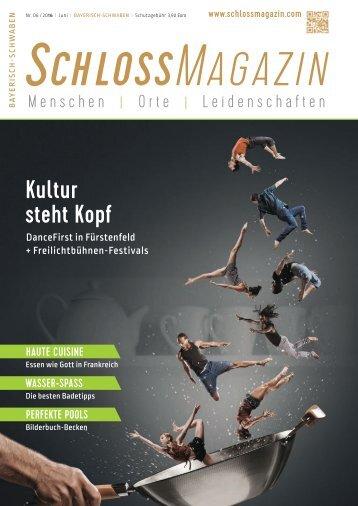 SchlossMagazin Bayerisch-Schwaben Juni 2016