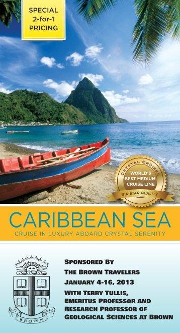 CARIBBEAN SEA - Brown Alumni Association - Brown University