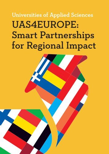 UAS4EUROPE Smart Partnerships for Regional Impact