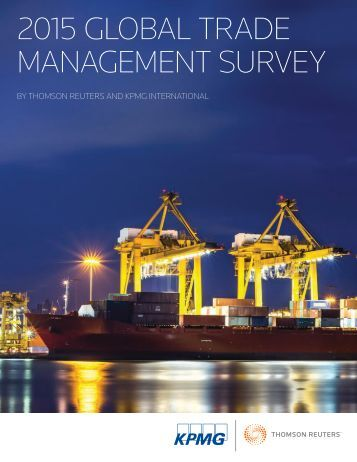 2015 global trade management survey