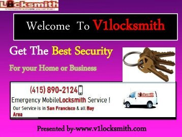 Commercial Locksmith San Francisco CA|V1Locksmith