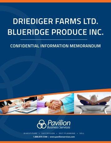 Driediger Farms Business Profile