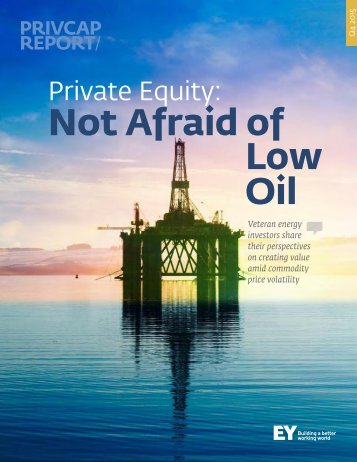 Not Afraid of Low Oil