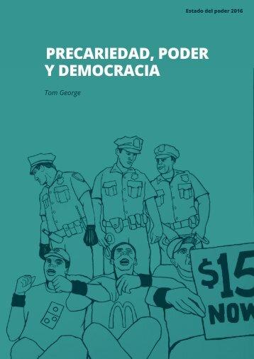 PRECARIEDAD PODER Y DEMOCRACIA