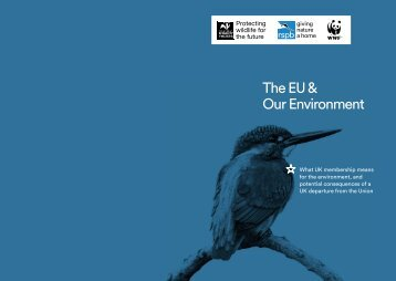 The EU & Our Environment